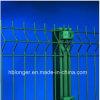 Покрынная PVC гальванизированная загородка ячеистой сети/двойная проволочная изгородь