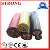 Резиновый износ подъема крана башни регулятора мощности/грузового подъемника/конструкции гибкий - сопротивляя кабель Гнуть-Сопротивления
