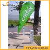 Bandierina di spiaggia di piccola dimensione portatile della vetroresina di mostra/bandierina di volo