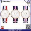 Yxl-152 promocional más nuevo reloj de pulsera de moda de deporte casual damas reloj de pulsera de nylon correa Nato OEM de encargo relojes encantador vestido de reloj