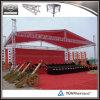 Напольная алюминиевая ферменная конструкция шатра системы ферменной конструкции этапа для случая