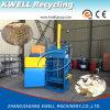 Vertikale automatische hydraulische Ballenpreßmaschine
