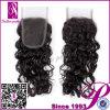 6A Free Parte Curly Closure con Virgin Hair