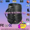 Noir du câble 60m/200ft de HDMI avec 24k le mâle des connecteurs plaqué par or 19pin 19pin au mâle 1.4version 1080P pour l'Ethernet TVHD 3D