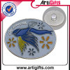 Pin del distintivo di marchio 3D con l'oro dell'imitazione di placcatura