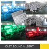 72X12W Waterproof Outdoor Lighting Stadt Color LED Wall Washer
