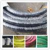 Tuyau résistant d'aspiration de pétrole de tissu de tissu de tresse de spirale extérieure de fil d'acier