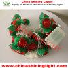 Розовые света украшения венчания шарика цветка СИД