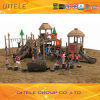 Wood di plastica Outdoor Children Playground per il parco di divertimenti/School (2014NL-01201)