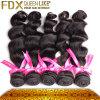 Unprocessed путать Frech продуктов волос Fdx курчавый свободно и отсутствие волосы бразильянина девственницы сарая людские