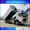 HOWO A7 10 바퀴 20cbm 덤프 트럭 30tons 팁 주는 사람 트럭