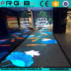 Nueva etapa profesional que enciende la pantalla de visualización portable de LED P6.25 Dance Floor