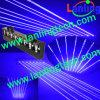 Лазерный луч DJ звука тучного луча Moving головной голубой