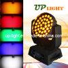 36 * 15W 5en1 RGBWA zumbido LED de luz de escenario
