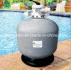 Верхний фильтр песка плавательного бассеина держателя с клапаном Multiport