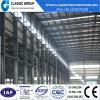Prix bon marché d'entrepôt de structure métallique de qualité avec le pont roulant
