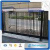 Trabajos durables prácticos ornamentales/decorativos de la puerta de desplazamiento del hierro labrado