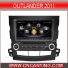 A8 Chipset Dual Core 1080P V-20 Disc WiFi 3G 인터넷 (CY-C056)를 가진 Outlander 2011년을%s 차 DVD