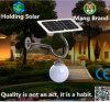 Indicatore luminoso esterno della luna solare del LED per il giardino con impermeabile