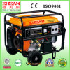 5kw, Wheel Kits를 가진 6kw Single Gasoline Generator