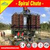 Separatore di spirale della strumentazione di gravità per la pianta di ripristino del minerale ferroso