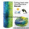 Anti-UV Wicking Dorado Fish Headwear Foulard Bandana