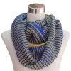 Sciarpa lavorata a maglia acrilica di modo di infinità delle signore 100% (YKY4197)
