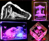 3D Cristal Laser souterrain Machine de gravure (HSGP-4 Ko)