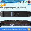 Amplificador de poder 2400W 2CH profissional de venda quente com Ce RoHS