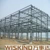 Pre-Проектированный портальный ангар стальной структуры света рамки
