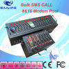 SMS en bloc Modem Pool, GM/M Mini 8 Port SMS Modem avec Wavecom Q2406, carte SIM Bulk SMS Machine GM/M Modem de Multi
