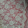 LadyのDressのための最新のNylon Cotton Lace Fabric
