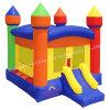 Casa inflável do salto do pátio traseiro colorido para o parque de diversões