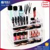 Étalage multiple d'organisateur de bijou de renivellement de tiroir acrylique de luxe cosmétique de cas