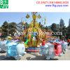 Les plus défunts tours de rotation de parc d'attractions pilotant l'éléphant monte (DJ20140516)
