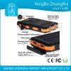 Imperméabiliser le côté mobile portatif solaire polycristallin de pouvoir de 10000 heures-milliampère