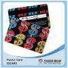 Offsetdrucken-Plastik-PVC-transparente NamensVisitenkarte