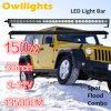 4X4 4WD Thin en Slim Offroad 150W 30inch CREE12 Volt LED Light Bar met IP68