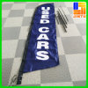 Изготовленный на заказ Vinyl Flag Display Stand Banner для Advertizing