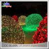 Weihnachtsweißes Zeichenkette-Licht-Dekoration-Kugel-Licht 2017 China-LED