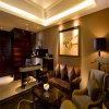 Kingsize現代木の寝室セットのホテルの家具