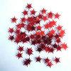 新しく多彩な星の形の色紙片