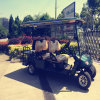 6 asientos eléctricos coche de golf con panel solar Rse-2069f