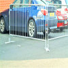Folla Control Barriers/Pedestrian Barrier Used per Construction