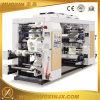 Vier Farben-flexographische Drucken-Hochgeschwindigkeitsmaschine