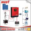純粋な正弦波MPPTを太陽インバーター24VDC 48VDC 230VAC 50Hzは決め付けなければならない