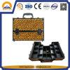 Leopard-lederner Verfassungs-Serien-Kasten mit Verschluss (HB-1201)