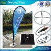 Teardrop-Markierungsfahnen durch Screen u. Digital gedruckte Markierungsfahne (J-NF04F06019)