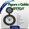 Le schéma supplémentaire 8 câble optique de fibre d'Aerail