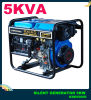 4.5kw Open Frame Portable Diesel Generator avec l'OIN de la CE